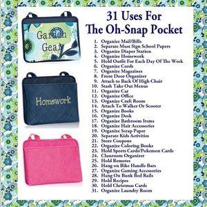 thirty-one Storage & Organization - Oh snap pocket